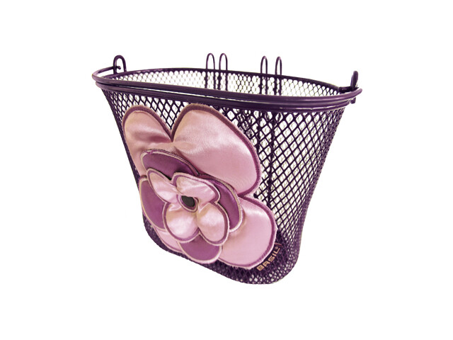 Basil Jasmin-Basket Bike Basket purple